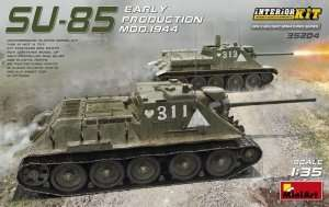 SU-85 Early Production Mod.1944 in scale 1-35 MiniArt 35204