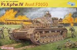 German tank Pzkfpw.IV Ausf.F2 Dragon 6360