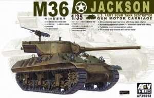 M36 Jackson U.S. Tank Destroyer in scale 1-35 AFV AF35058
