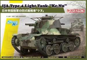 IJA Type 4 Light Tank Ke-Nu in scale 1-35