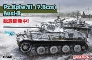 Panzerkampfwagen VI 7,5cm Ausf.B in scale 1-35