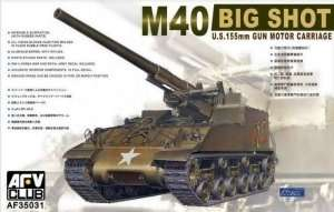 M40 Big Shot US 150mm Gun Motor Carriage in scale 1-35