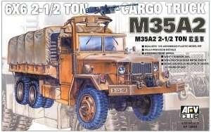 M35A2 6x6 Cargo Truck in scale 1-35