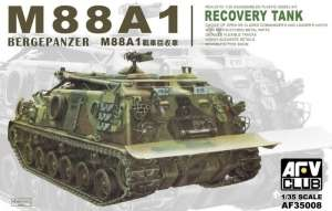 M88A1 Bergepanzer Recovery Tank model AFV 35008 in 1-35
