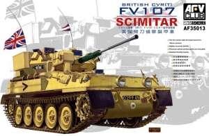 British CVR(T) FV107 Scimitar model AFV 35013 in 1-35