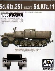 Sd.Kfz.251 Track Workable AFV 35044 in 1-35