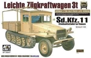 Leichte Zugkraftwagen 3t Sd.Kfz.11 in scale 1-35