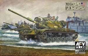 Tank M60A1 Patton model AFV 35060 in 1-35