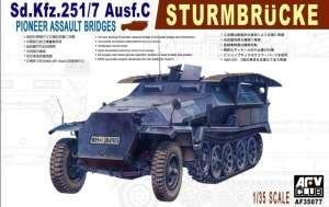 Sd.Kfz.251/7 Ausf.C Sturmbrucke model AFV 35077 in 1-35