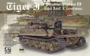 Tiger I Pz.Kfz.VI Ausf.E in scale 1-35