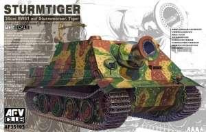 Sturmtiger 38cm RW61 auf Sturmmorser model AFV in 1-35
