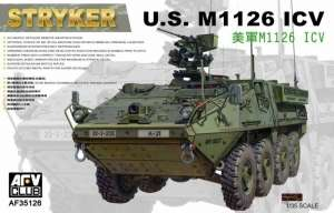 Stryker M1126 8x8 ICV Infantry Carrier Vehicle model AFV in 1-35