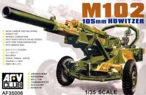 M102 105mm Howitzer in scale 1-35