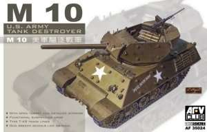 M10 US Army Tank Destroyer - model AFV in scale 1-35