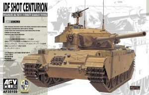 IDF Shot Centurion in scale 1-35 AFV AF35159