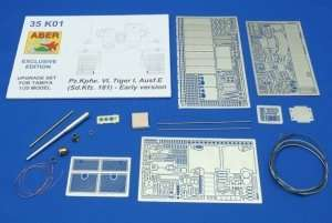 Pz.Kpfw.VI, Tiger I, Ausf.E - Upgrade Set for Tamiya 1-35 Model