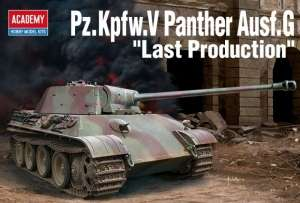 Tank Pz.Kpfw.V Panther Ausf.G Last Production model in 1-35