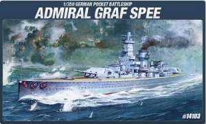 Admiral Graf Spee in scale 1-350 Academy 14103