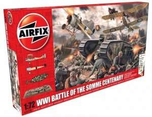 Gift Set -  WWI Battle of the Somme Centenary - scale 1-72