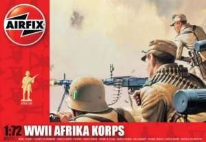 WWII Afrika Korps in scale 1-72 - Airfix A01711