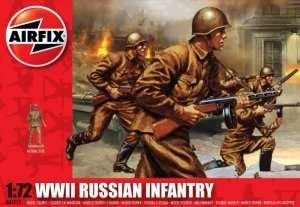 WWII Russian Infantry in scale 1-72 - Airfix A01717