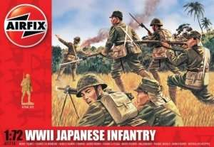 WWII Japanese Infantry in scale 1-72 - Airfix A01718