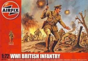 WWI British Infantry in scale 1-72 - Airfix A01727