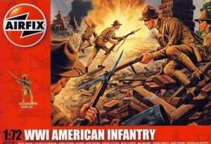 WWI American Infantry in scale 1-72 - Airfix A01729
