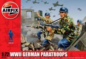 WWII German Paratroops in scale 1-72 - Airfix A01753