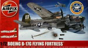 Boeing B-17G Flying Fortress model Airfix in 1-72