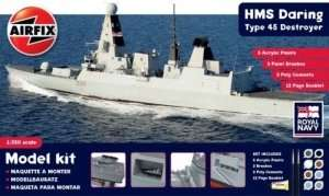 Modeling Kit - HMS Daring Type 45 Destroyer in scale 1-350