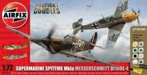 Gift Set Dogfight Doubles - Spitfire Mk.Ia and Messerschmitt Bf109E-4
