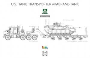 U.S. Tank Transporter with Abrams Tank Takom 5002X