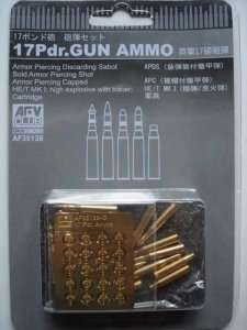 17Pdr. Gun Ammo scale 1:35