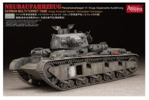 Neubaufahrzeug Panzer VI Krupp Version model Amusing Hobby in 1-35