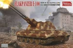 Flakpanzer E-100 88mm Flakzwilling in scale 1-35