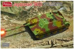 Model Jagdpanzer 38 (D) scale 1-35 -35A021
