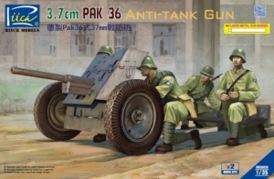 German 3.7cm Pak 36 Anti-Tank Gun model RV35026