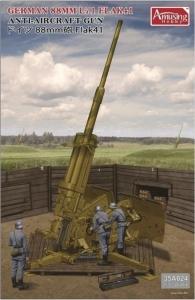 German 88mm L71 Flak 41 Anti-Aircraft Gun Amusing Hobby 35A024