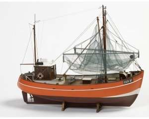 Cux 87 Krabbencutter in scale 1-33 BB474 - wooden ship model kit