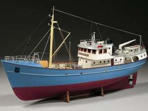 Travler Nordkap wooden model Billing Boats BB476 in 1-50
