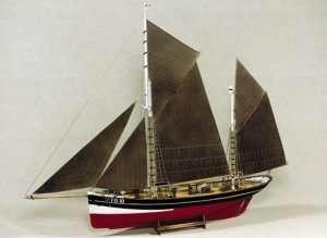 Model BB701 FD 10 Arnanes Fishing Yawl in scale 1-50