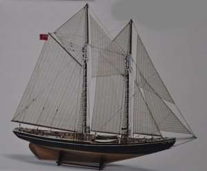 Fishing schooner Bluenose - BB576 in scale 1-65