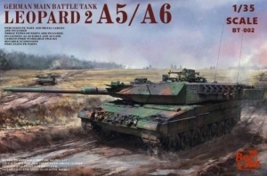 German Main Battle Tank Leopard 2 A5/A6 model Border BT-002