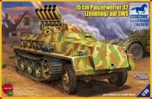 15cm Panzerwerfer 42 Zehnling auf sWS in scale 1-35
