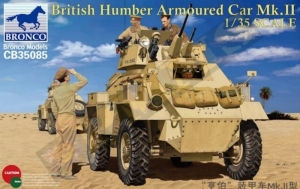 Humber Armoured Car Mk.II model Bronco in 1-35