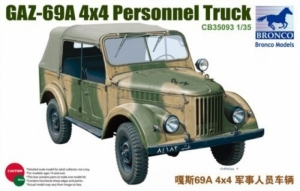 GAZ-69A 4x4 Personnel Truck model Bronco in 1-35