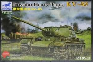 Russian Heavy Tank KV-85 in scale 1-35 Bronco