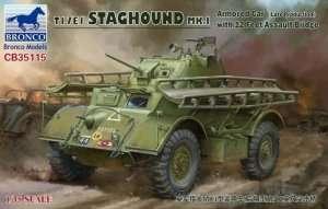 T17E1 Staghound Mk.I in scale 1-35