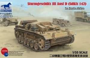 Sturmgeschutz III ausf. D North Africa scale 1-35